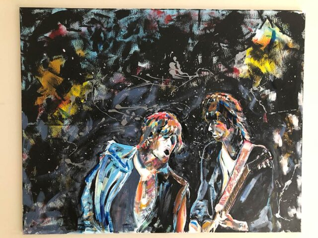 Mick 'n' Keef- 'The Glimmer Twins'